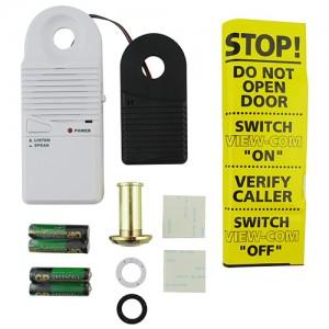 Sure 2 way intercom with door viewer2